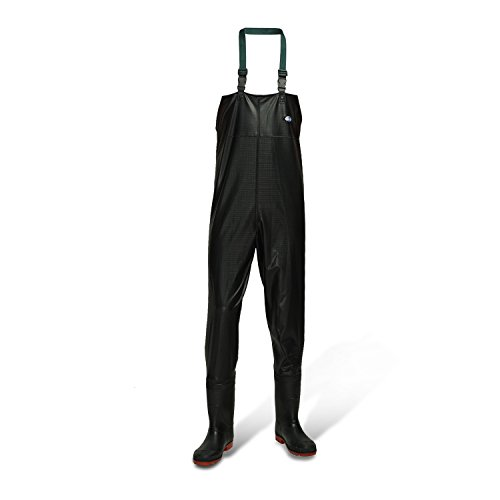 Fly fishing waders with wading boots,fishing gear ,chest waders for fishing by Azuki