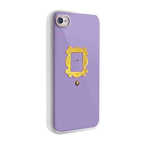Price comparison product image Monica's Peephole Door Friends Tv Show for Iphone and Samsung Galaxy Case (iphone 5 /5s  white)