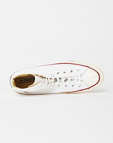 70 egret Taylor white Blanco black Zapatillas 100 Deporte Canvas Converse De Chuck Adulto Hi Unisex Ctas 4OwcatF