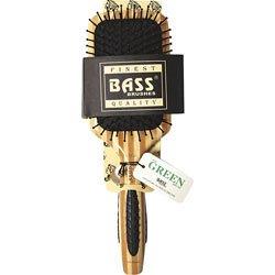 Brush - Large Square Paddle Brush Cushion Light Wood Handle Nylon Bristle Bass Brushes 1 (Nylon Bristle Cushion)
