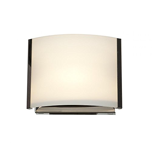 Nitro Wall (Nitro 2 - 1-Light Vanity - Bronze Finish - Opal Glass Shade)