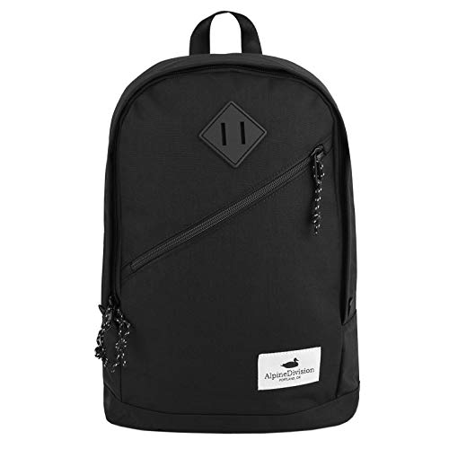 Alpine Black Eliot Division Backpack Alpine Eliot Backpack Black Division Alpine tfFFqw