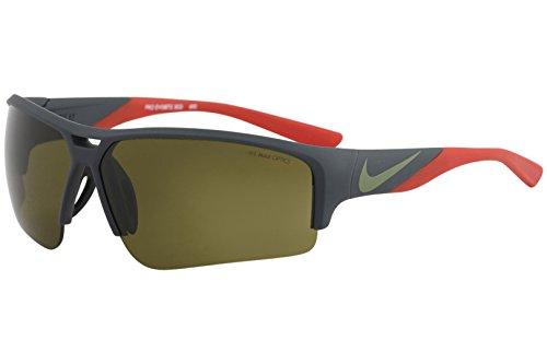 NIKE EV0872-303 Golf X2 Pro Sunglasses (Frame Outdoor Tint Lens), Matte Seaweed/Palm Green ()