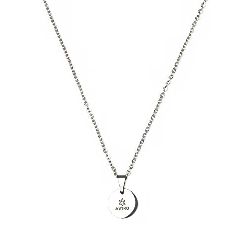 Astro Boy Merchandise (Fanstown kpop team logo 0.4 inch diameter round type water prove necklace fashion and cool (ASTRO))