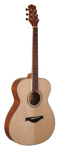 Wood Song Orchestra OME-NA Acoustic-Electric Guitar with Pickup, Natural