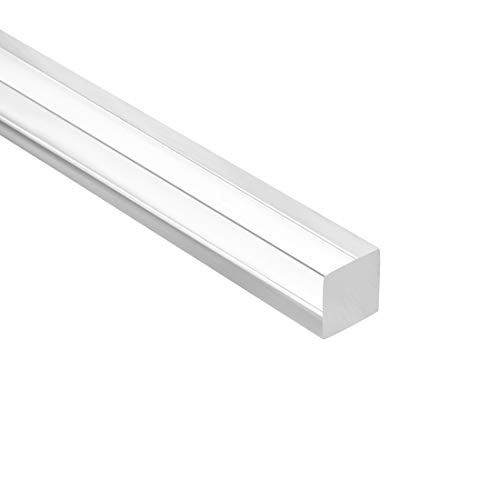 """Details about  /5mm x 20/"""" Acrylic rod,Square,Clear Acrylic Plastic Rod PMMA Bar"""