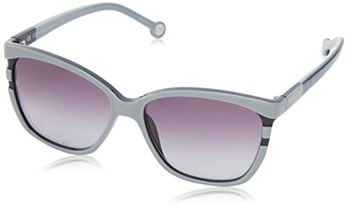 carolina-herrera-womens-she543-n86-wayfarer-sunglassesgrey-blue57-mm