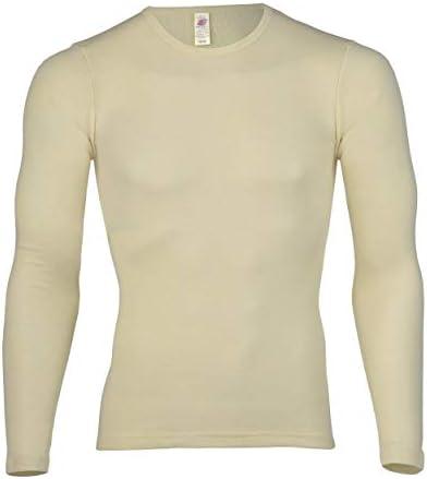 Engel Axil - Camiseta interior manga larga lana seda ángel natural: Amazon.es: Ropa y accesorios
