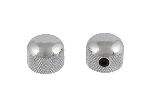 Allparts MK-3315-010 Chrome Mini Dome Knob Set