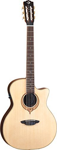 Luna SONG NYLON Heartsong Nylon Acoustic Electric Guitar with USB