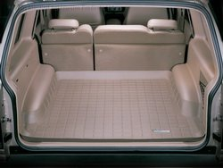 WeatherTech Custom Fit Cargo Liners for Cadillac Escalade ESV, Tan ()