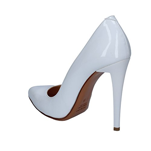ALBANO Zapatos de Salón Mujer 38 EU Blanco Charol