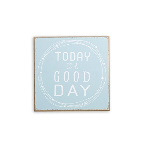 (Demdaco 8.5 Inches Square Today is a Good Day Wall Art Home)