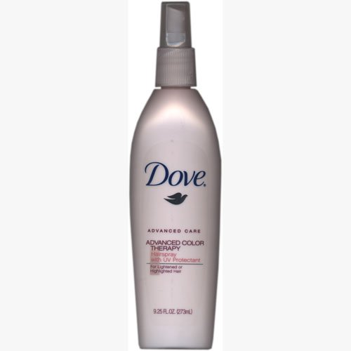 Dove Advanced Care Color Therapy Hairspray for Lightened or Highlighted Hair, with UV Protectant, 9.25 oz - Dove Advanced Care Therapy
