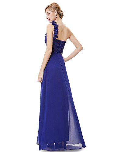 Abito Da Lungo Zafiro pretty Sera Vestito Ever Donna Azul 09768 xwCRY1qC