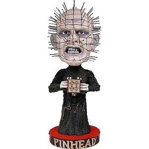 Amazon Com Hellraiser Pinhead Hand Painted Bobble Head