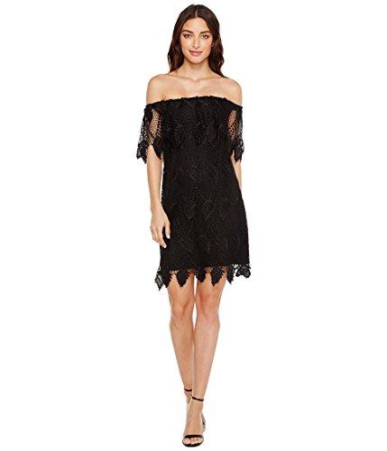 [アドリアナパペル] Adrianna Papell レディース Victoriana Palm Lace Off the Shoulder Shift Dress ドレス [並行輸入品]