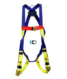 Elk River 52102 Polyester/Nylon Freedom EZE-Wear 1 D-Ring Harness with Tongue buckle, Fits Small to Large by Elk River