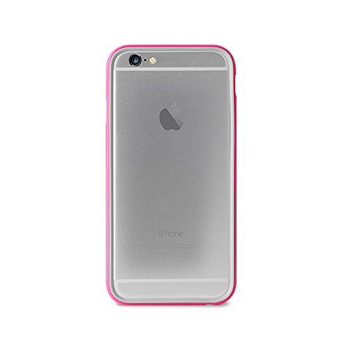 14 opinioni per Puro IPC655BUMPERPNK Custodia per iPhone 6/6s Plus, Rosa