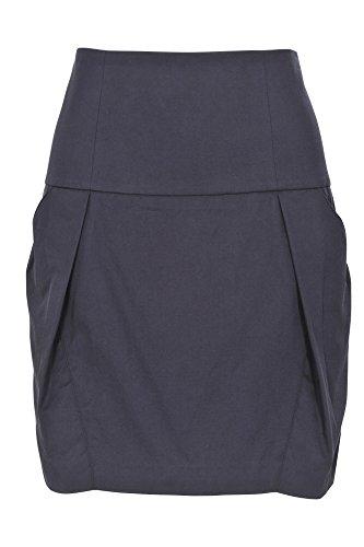 Brunello It Color Falda 46 Azul Cucinelli Un Oscuro Mujer Tulipán Sólo 8P8OqrY