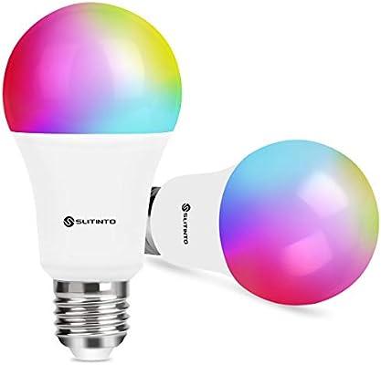 Pack de 2 bombillas inteligentes con wifi