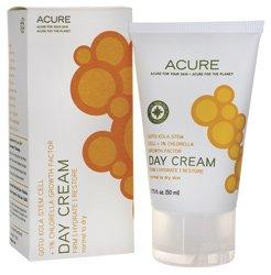 Acure Crème de Jour Gotu Kola cellules souches + 1% Chlorella, 1,75 oz