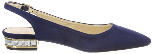 Menbur Damen Blau Assistenza Slingback Ballerine (blu)