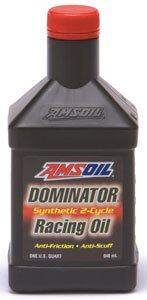 AMSOIL FULL SYNTHETIC Dominator 2-Cycle Oil 1 Quart INC. BA-254