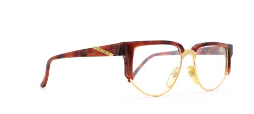 Pilar Crespi - Monture de lunettes - Femme Or Gold Red