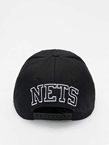 Mitchell & Ness Gorras Brooklyn Nets Eazy Black 110 Adjustable ...
