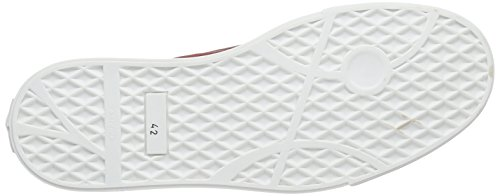 Mjus 307109 Herren Slipper Rot (Bordo/Corda/Lino)