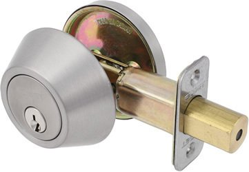 Ez Set Satin (EZ-Set 231004 Single Cylinder Deadbolt by EZ-Set, Satin Nickel)