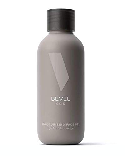 Face Moisturizer for Men by Bevel - Clear, Lightweight Face Lotion Gel with Tea Tree Oil and Vitamin C, Improves Dry, Oily and Sensitive Skin, 4 fl. oz.