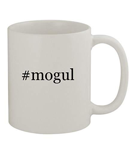 #mogul - 11oz Sturdy Hashtag Ceramic Coffee Cup Mug, White