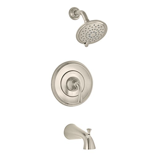 American Standard Petal (American Standard T106502.295 Romantic Patience PB Bath/Shower Trim BN, Brushed Nickel)