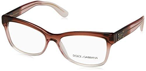 (Dolce & Gabbana DG3254 Eyeglass Frames 3060-54 - Bordeaux Gradient/Pink/Powder DG3254-3060-54)