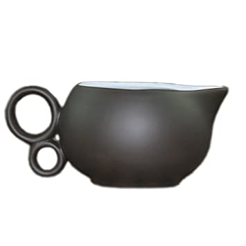 Stylish Purple Clay Gravy Boat Unique Style Sauce Boat G-S404(2)