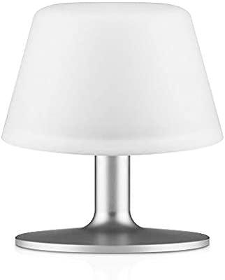 Eva Solo 571337 aluminio, color blanco lámpara de mesa ...