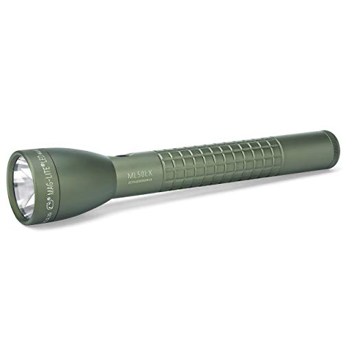 Maglite Green Flashlight - Maglite ML50LX LED 3-Cell C Foliage Green Flashlight