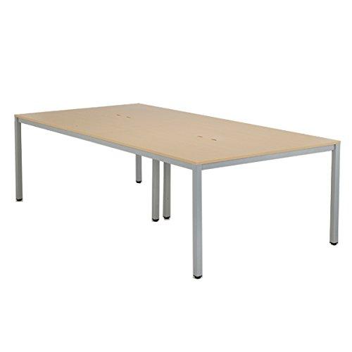 OAミーティングテーブルW2400 AT-2412-AF2 ナチュラル B0184ZCICK