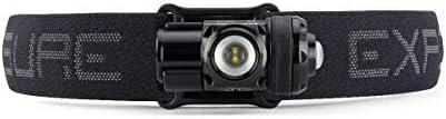 Exposure Lights Joystick Mk13 1000lm USB Front Light Carbon//Silver