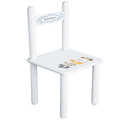 MyBambino Personalized Kitty Cat Childrens Chair by MyBambino
