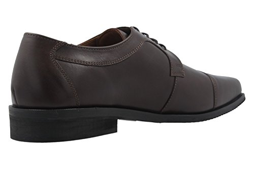 lacets marron ville Chaussures Manz marron pour à de homme U7OzwqC