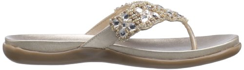 Sandal Women's Cole Champagne Flat Kenneth athon Glam Reaction xqTwpnzfZ