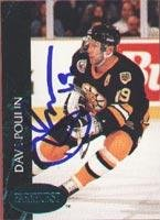 Dave Poulin Boston Bruins 1991 Parkhurst Autographed Card. This item comes with a certificate of authenticity from Autograph-Sports. Autographed -