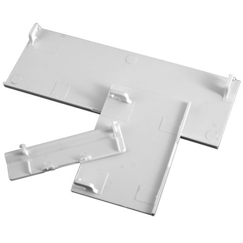TOOGOO(R) Replacement Door Slot Covers for Nintendo Wii Console