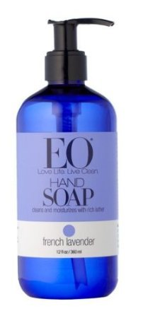 EO Hand Soap, French Lavender, 12-Ounce Bottles (Pack of 3)