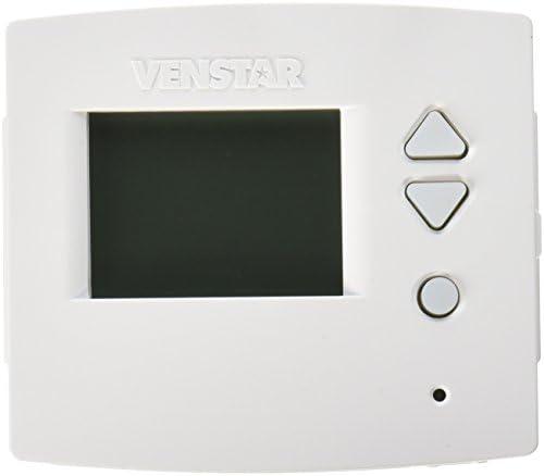Venstar T3800 Residential Voyager Wifi Ready Thermostat – Works W/Alexa When Wifi Module Installed