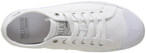 Palladium Women's Pallaphoenix Og Canvas Mixte Trainers, Black White (White 420)