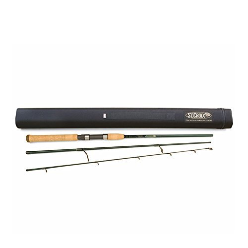 St.Croix Tidemaster Travel Fishing Rod, TIS70MHF3 by St Croix